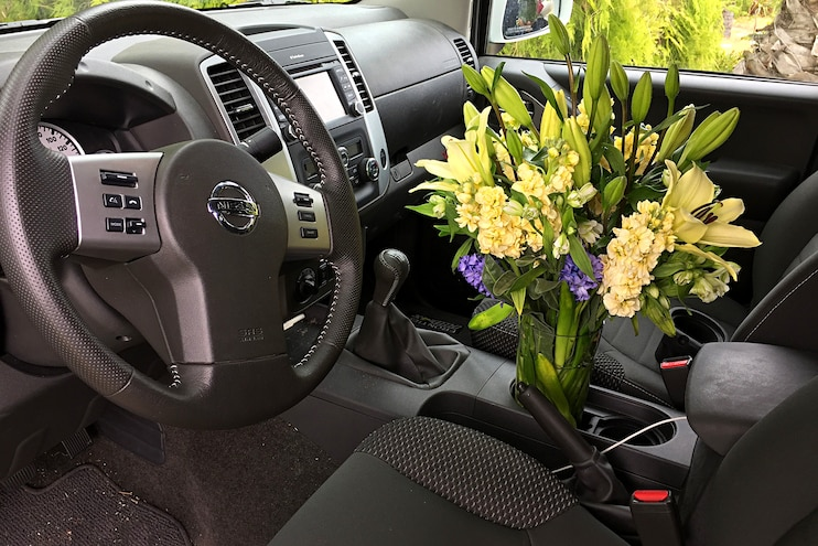 2016 Nissan Frontier Long Term Review Interior