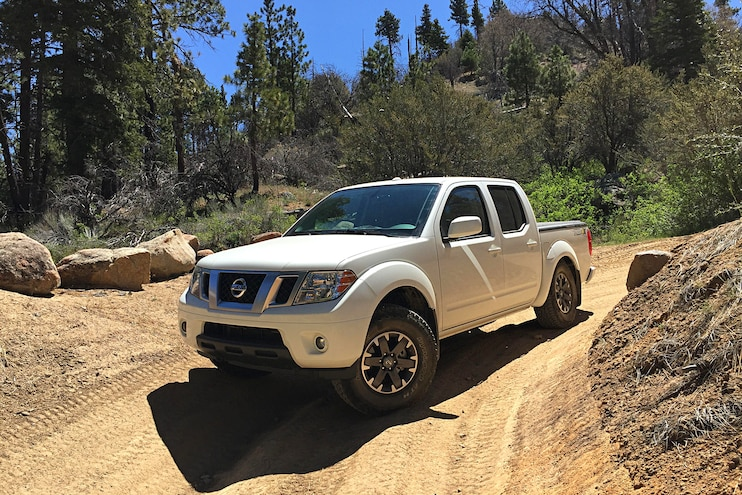 2016 Nissan Frontier Long Term Review Dirt Road