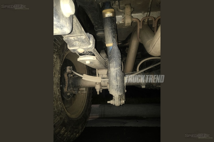 2018 Chevrolet Colorado Zr2 Rear Axle