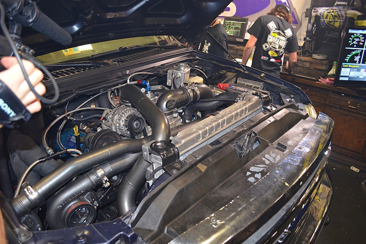 Diesel Power Challenge 2016 Dyno Charlie Keeter Engine