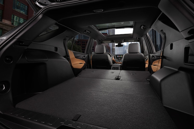 2018 Chevrolet Equinox Studio Interior Cargo