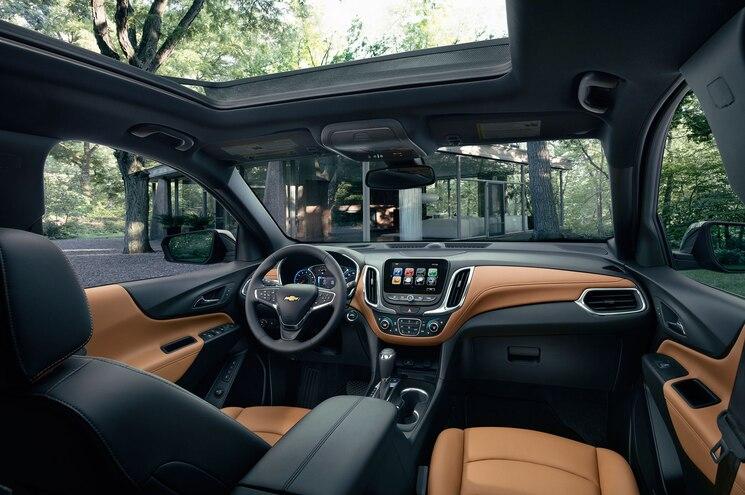 2018 Chevrolet Equinox Studio Interior Dashboard