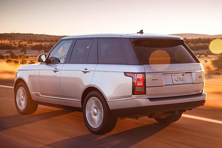 2016 Land Rover Range Rover Diesel Rear View