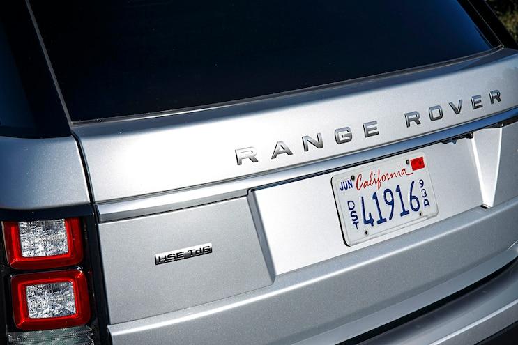 2016 Land Rover Range Rover Diesel Rear Close Up