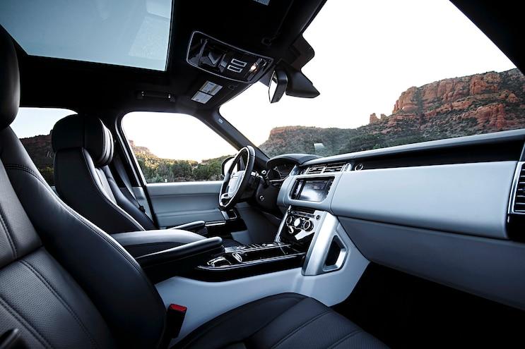 2016 Land Rover Range Rover Diesel Interior