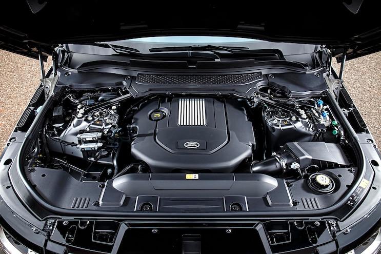 2016 Land Rover Range Rover Diesel Engine Bay