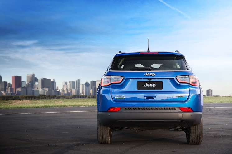 2018 Jeep Compass Latitude Exterior Rear View