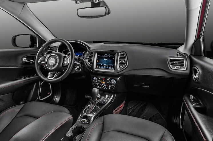 2018 Jeep Compass Trailhawk Interior Dashboard