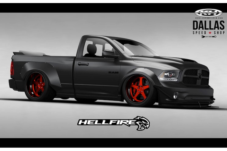 Dallas Speed Shop to Bring Hellcat-Powered Ram 1500 to SEMA 2016
