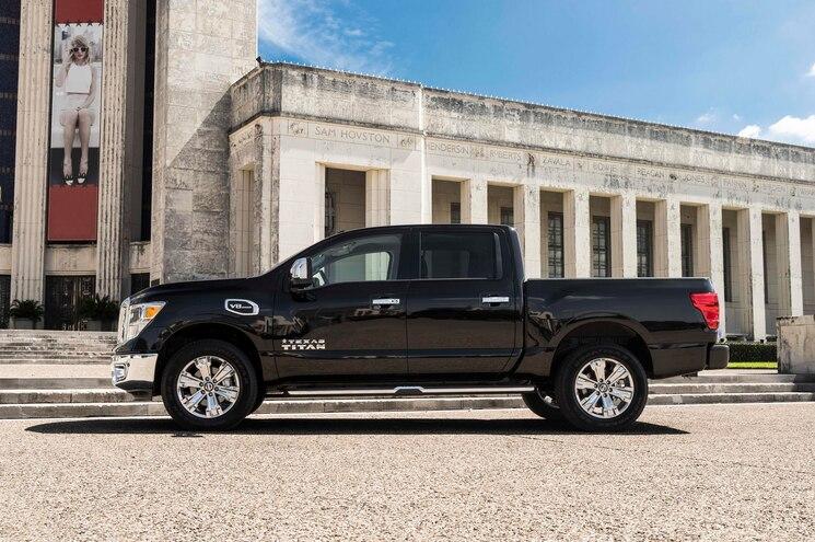 2017 Nissan Texas Titan Exterior Side Profile