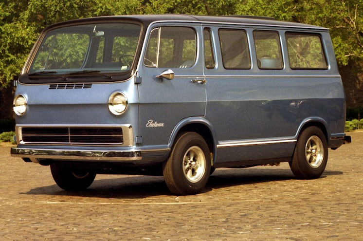 VIDEO: GM Celebrates 50 Years of Hydrogen Fuel Cell Development with 1966 Electrovan