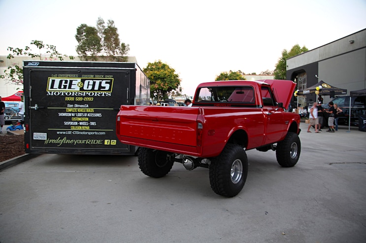 Showin Off: The LGE-CTS Custom Truck & Rod Show Off