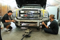Ford Excursion 2015 >> Dental Work 2015 Super Duty Front End Swap On An Early Excursion