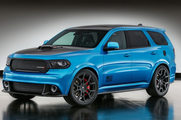 2017 Dodge Durango Shaker Mopar Front Three Quarter