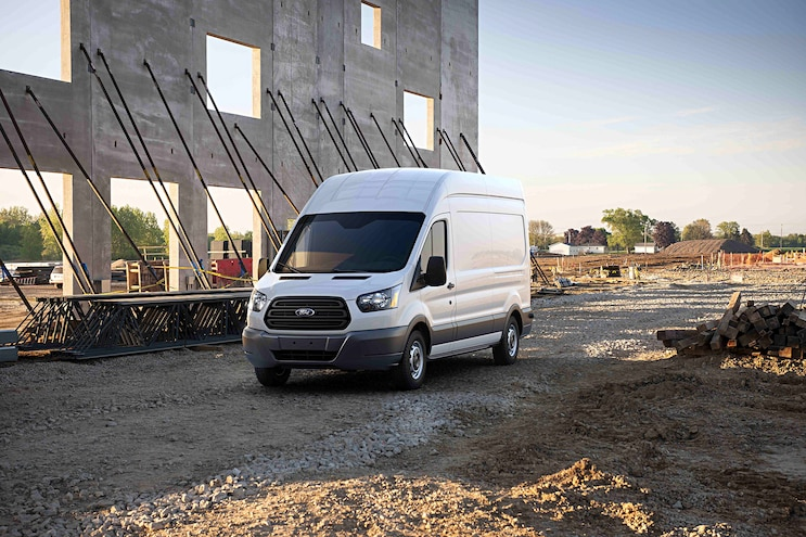 2017 Ford Transit Front Driver Side