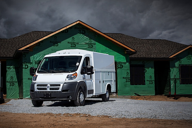 24 2017 Ram Promaster Front Driver Side