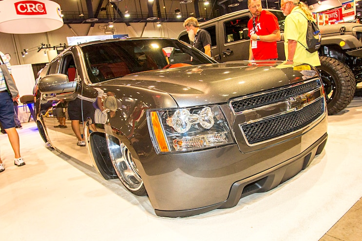 Trucks Of The 2016 Sema Show Chevy Tahoe