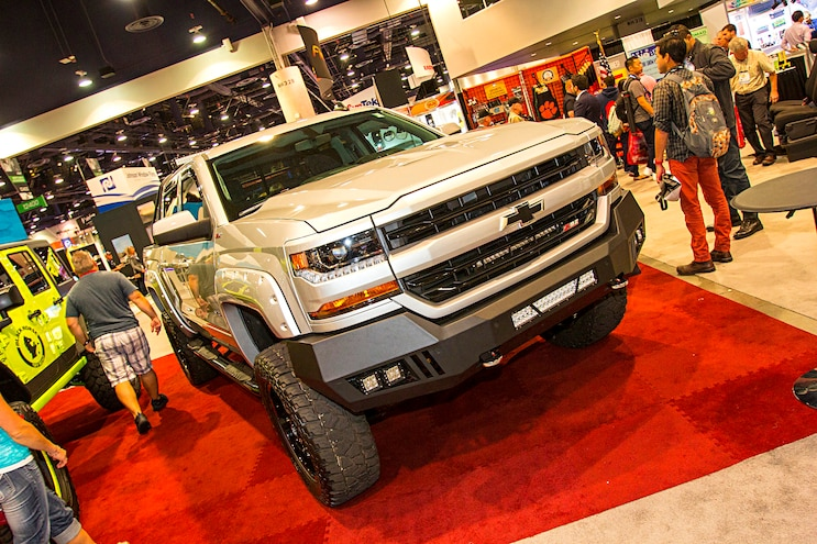 Trucks Of The 2016 Sema Show Chevrolet 1500 Silverado