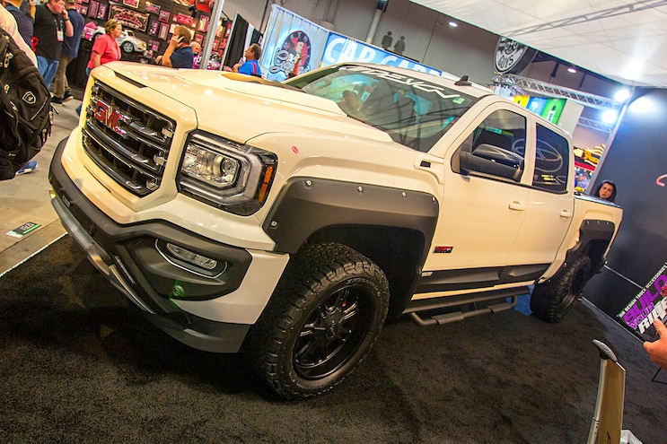 Trucks Of The 2016 Sema Show Gmc Sierra 1500