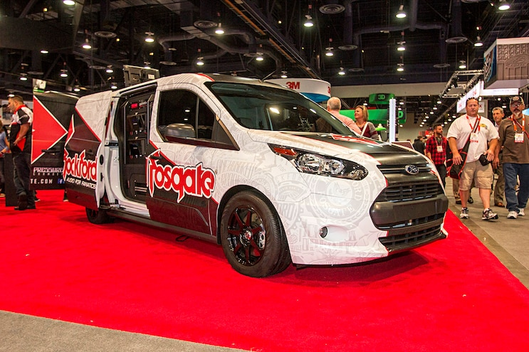 Trucks Of The 2016 Sema Show Ford Transit Connect