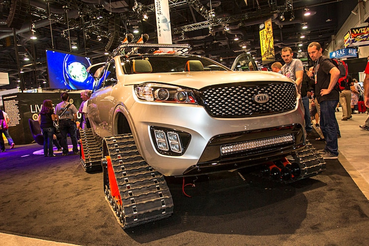 Trucks Of The 2016 Sema Show Kia