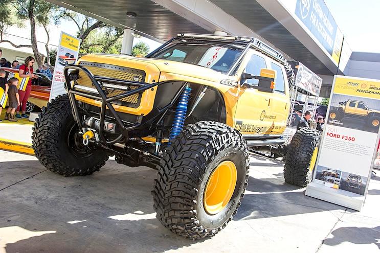 Trucks Of The 2016 Sema Show Bro Dozer Ford Super Duty