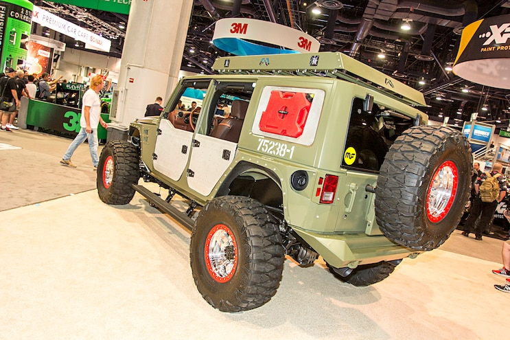Trucks Of The 2016 Sema Show Jeep Wrangler Unlimited
