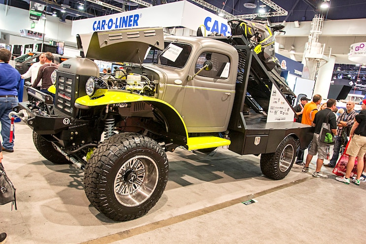 Trucks Of The 2016 Sema Show Dodge Power Wagon