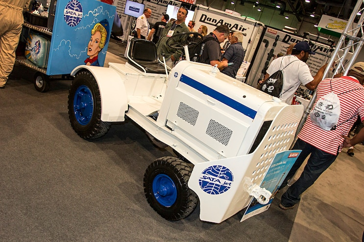 Trucks Of The 2016 Sema Show Airplane Tug