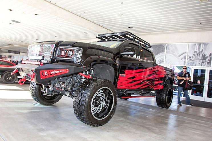 Trucks Of The 2016 Sema Show Gmc Canyon