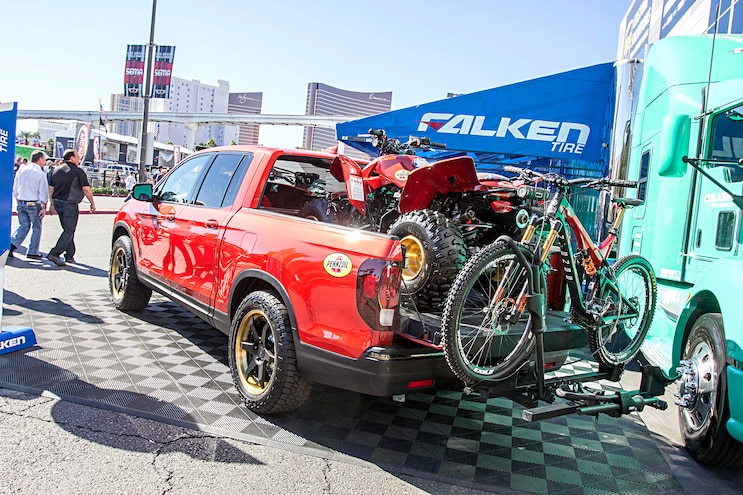 Trucks Of The 2016 Sema Show 2017 Honda Ridgeline