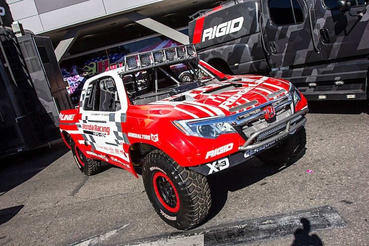 Trucks Of The 2016 Sema Show Honda Ridgeline