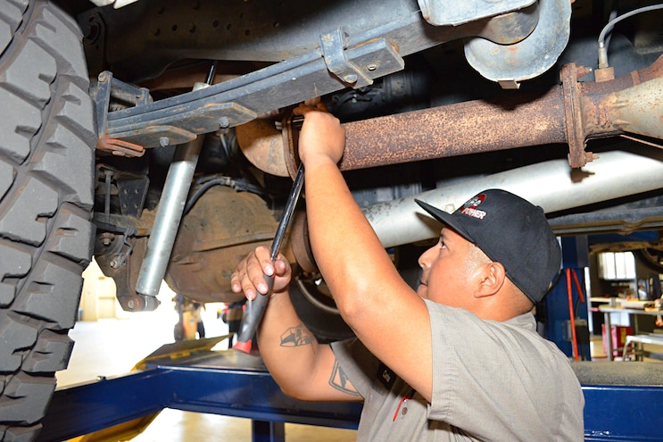 2011 Ford F 250 AFE Install Back Exhaust