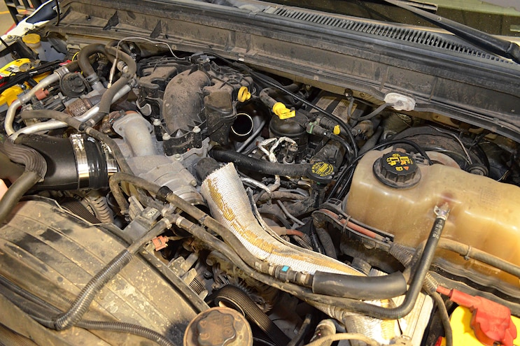 2011 Ford F 250 AFE Install Remove Stock Tubes