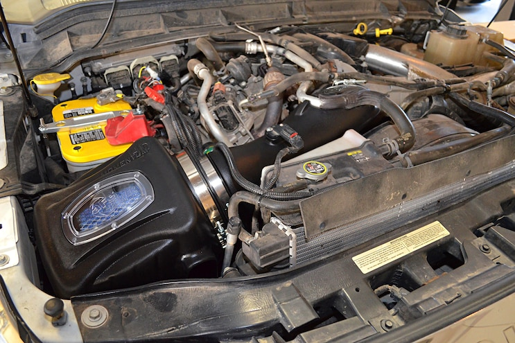 2011 Ford F 250 AFE Install Intake Tube