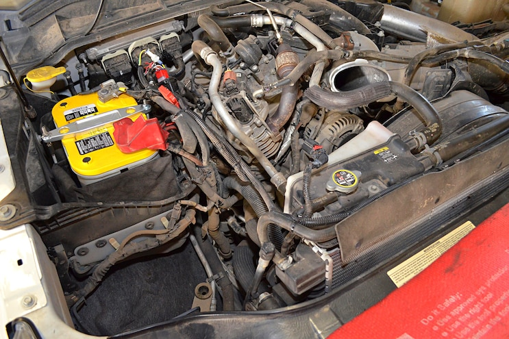 2011 Ford F 250 AFE Install Remove Stock Intake