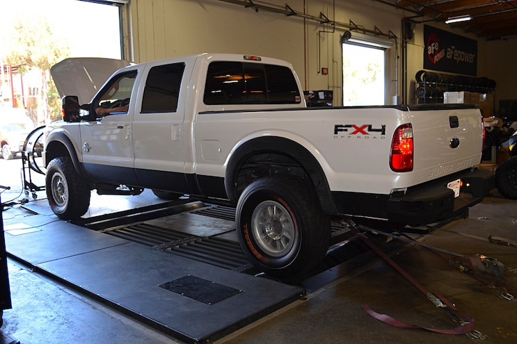 2011 Ford F 250 AFE Install On Dyno