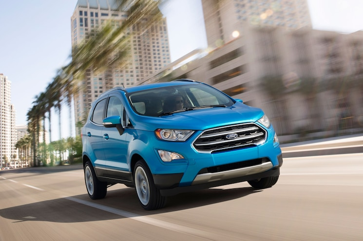 2018 Ford Ecosport Front Angle Driving