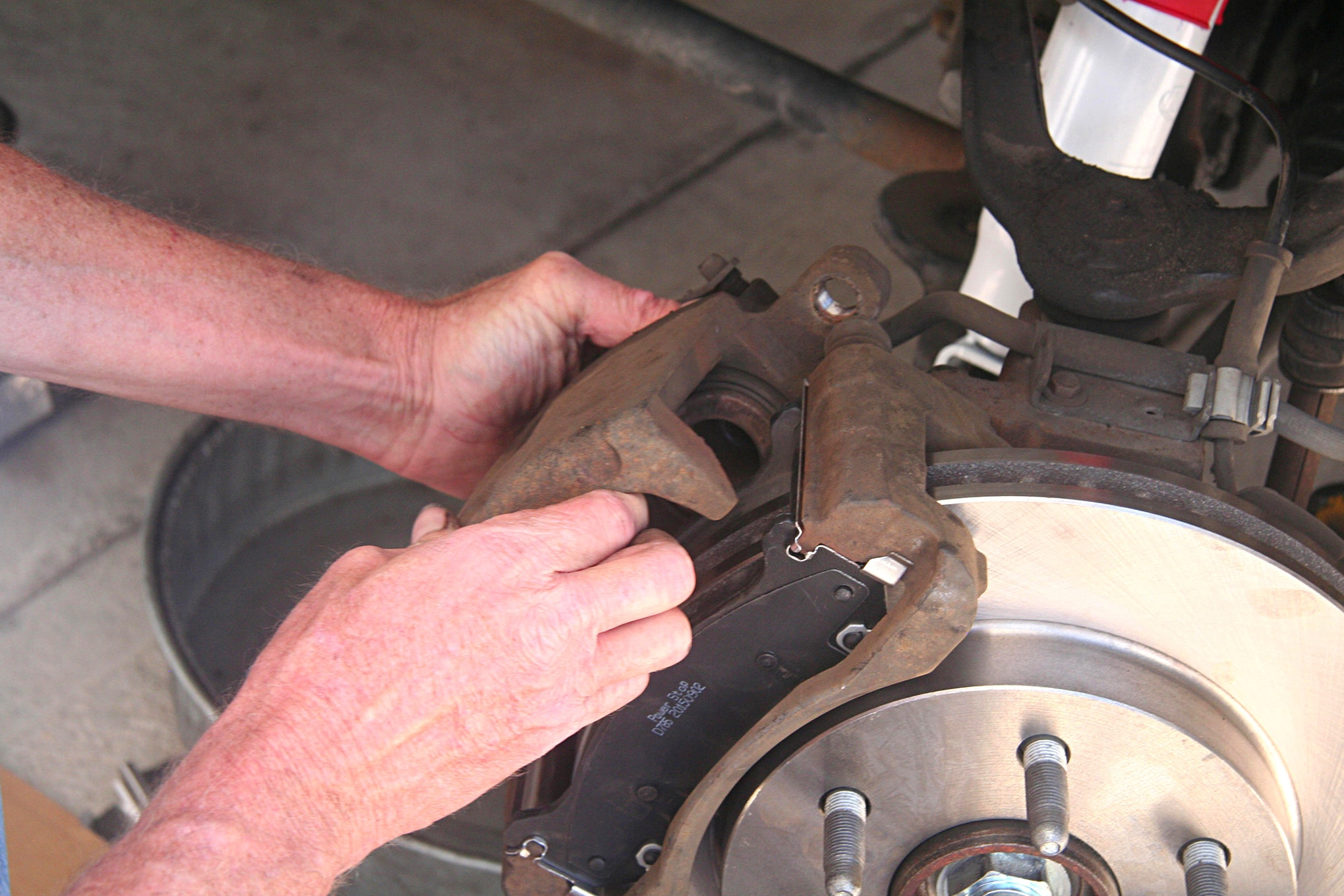 2004 Chevrolet Avalanche Brake and Shock Replacement