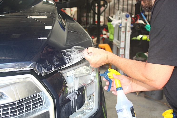 Xpel Paint Protection Reapplication