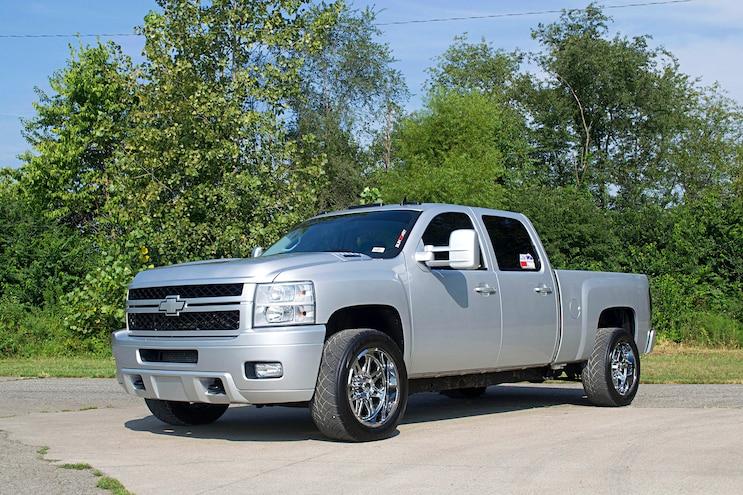2011 Chevrolet Silverado 2500 HD Factory Flyer