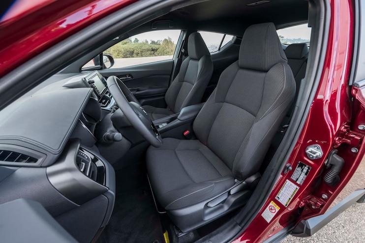 2018 Toyota C HR Front Interior Seats