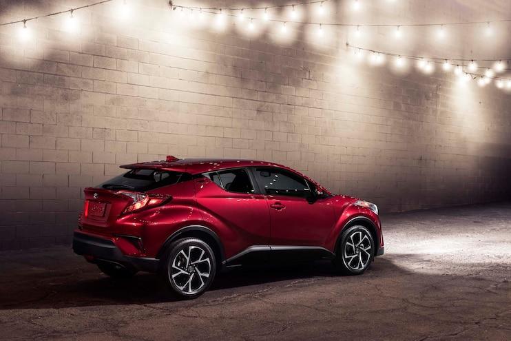 2018 Toyota C HR Rear Three Quarter