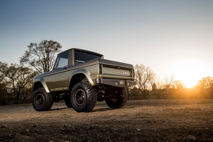 1966 Ford Bronco Rear