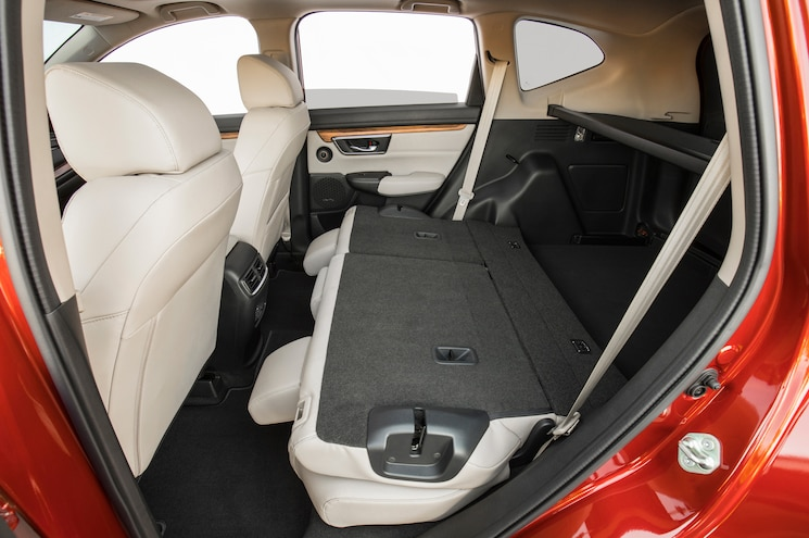 2017 Honda Cr V Interior Rear Seat Folded