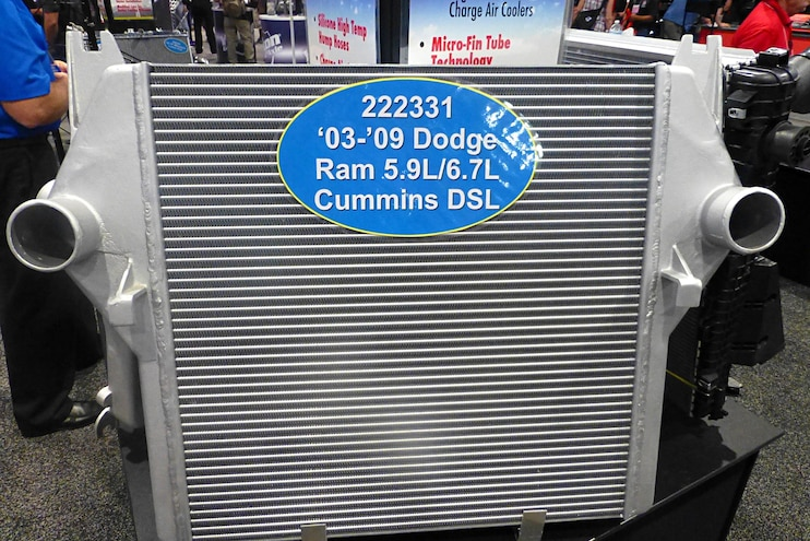 Diesel Truck Parts Sema Northern Radiator Performance Intercooler