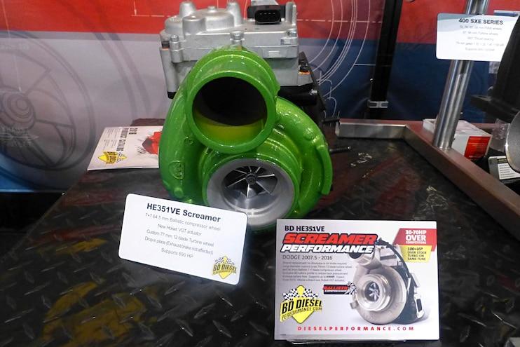Diesel Truck Parts Sema Bd Diesel Cummins Turbo
