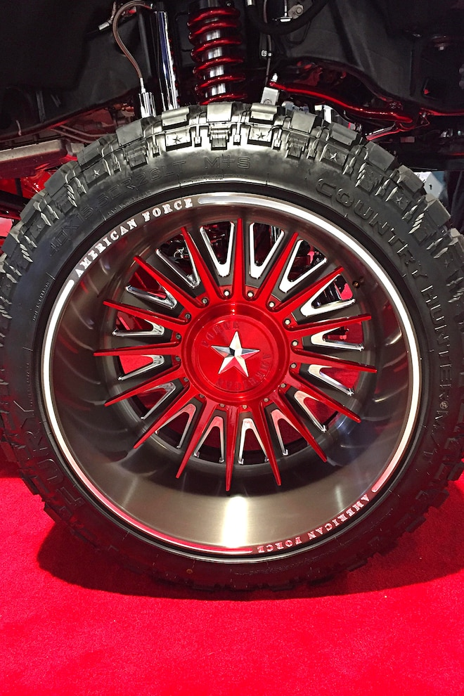 Diesel Truck Parts Sema American Force Tactical Wheels