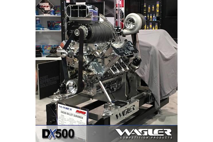 Diesel Truck Parts Sema Wagler Dx500