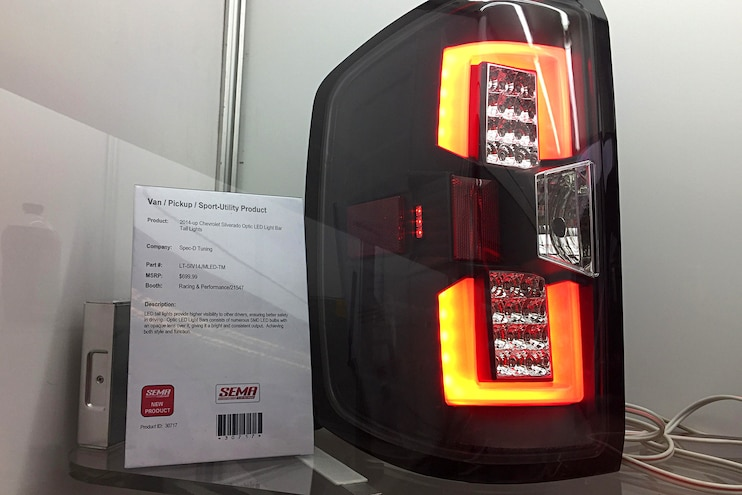 Diesel Truck Parts Sema Spec D Tuning Led Taillights